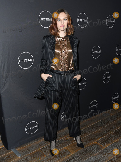 Aubrey Peeples Photo - 09 January 2019 - Hollywood California - Aubrey Peeples Lifetime Winter Movies Mixer held at The Andaz Studio 4 Photo Credit Birdie ThompsonAdMedia