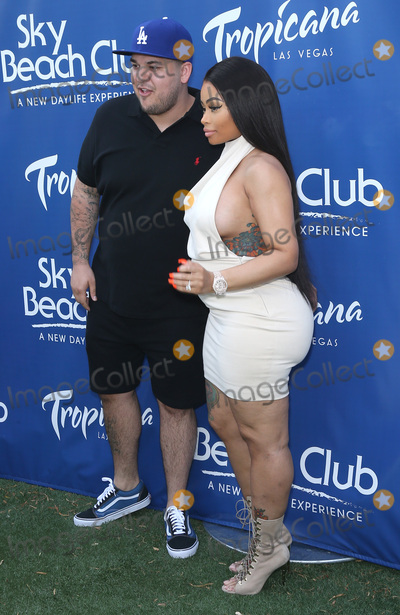 Rob Kardashian Photo - 28 May 2016 - Las Vegas Nevada - Rob Kardashian Blac Chyna  Rob Kardashian and Blac Chyna celebrate Memorial Day Weekend at Sky Beach Club at the Tropicana Las Vegas  Photo Credit MJTAdMedia