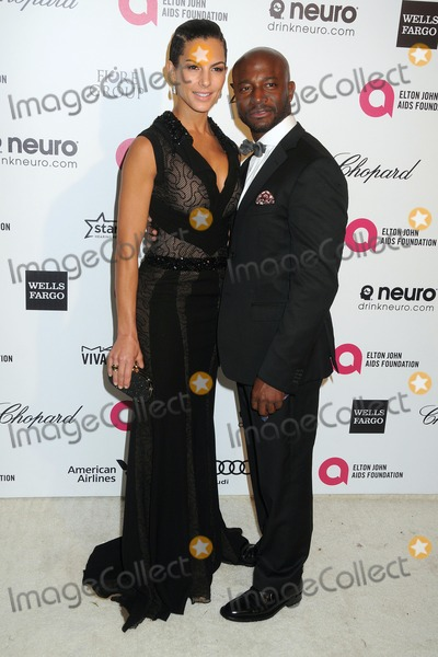 Amanza Smith Photo - 22 February 2015 - West Hollywood California - Amanza Smith Brown Taye Diggs 23rd Annual Elton John Oscar Viewing Party held at West Hollywood Park Photo Credit Byron PurvisAdMedia