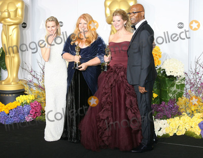 Adruitha Lee Photo - 02 March 2014 - Hollywood California - Adruitha Lee Robin Mathews Naomi Watts Samuel L Jackson 86th Annual Academy Awards held at the Dolby Theatre at Hollywood  Highland Center Photo Credit AdMedia