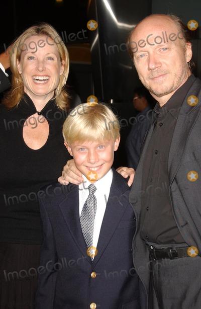 Deborah Rennard Photo - Deborah Rennard and Paul Haggis with their son at the Los Angeles premiere of In The Valley Of Elah Arclight Cinemas Hollywood CA 09-13-07