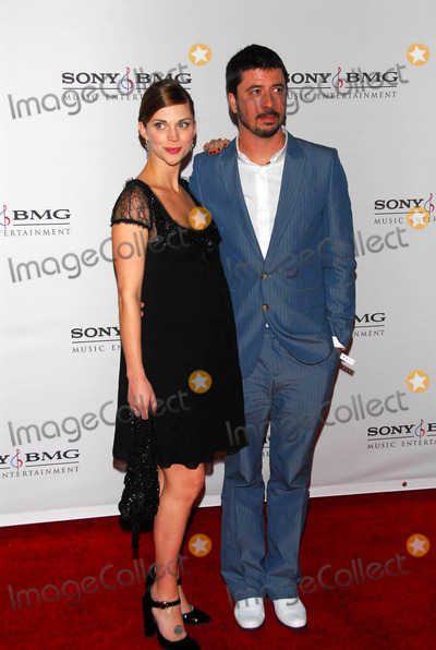 Dave Grohl Photo - Dave Grohl and wife Jordynat the Sony BMG post GRAMMY party Roosevelt Hotel Hollywood CA 02-08-06
