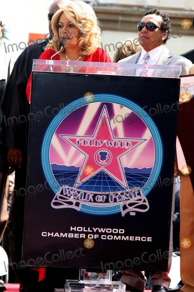 Claudette Robinson Photo - Claudette Robinson and Smokey Robinson at the Hollywood Walk of Fame ceremony honoring the music group The Miracles Hollywood Boulevard Hollywood CA 03-20-09