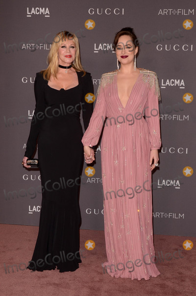 Melanie Griffith Photo - Melanie Griffith Dakota Johnsonat the LACMA Art and Film Gala LACMA Los Angeles CA 11-04-17