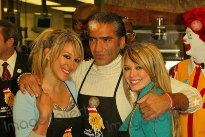 Alejandro Fernandez Photo - Haylie Duff Alejandro Fernandez and Hilary Duff At the McDonald Kick Off Of World Childrens Day 2004 McDonalds store Los Angeles CA 11-09-04