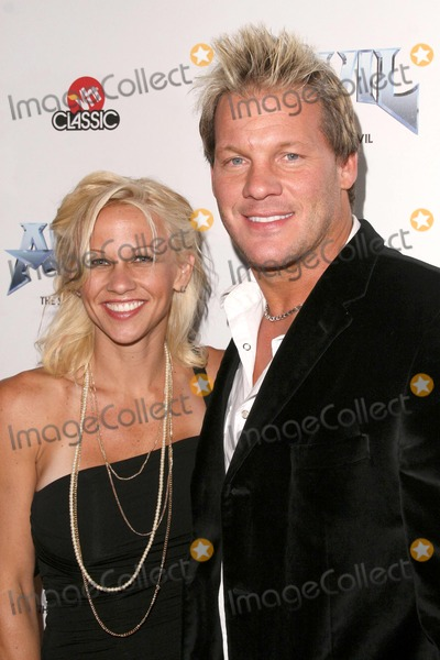 Anvil Photo - Chris Jericho and wife Jessica at the Los Angeles Premiere of Anvil The Story of Anvil The Egyptian Theatre Hollywood CA 04-07-09