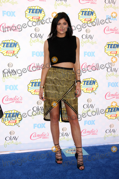 Kylie Jenner Photo - Kylie Jennerat the 2014 Teen Choice Awards Arrivals Shrine Auditorium Los Angeles CA 08-10-14