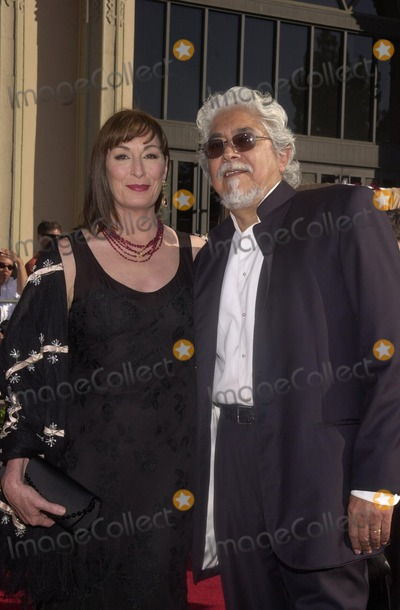 Angelica Huston Photo - Angelica Huston and husband at the 8th Annual Screen Actors Guild Awards Shrine Auditorium 03-10-02