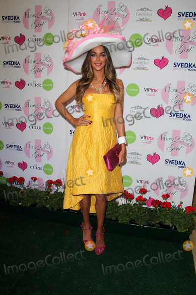 Annual Derby Photo - Courtney Sixxat the Annual Derby Ladies Luncheon Private Location Westlake Village CA 05-02-15
