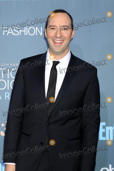 Tony Hale Photo - Tony Haleat the 22nd Annual Critics Choice Awards Barker Hanger Santa Monica CA 12-11-16