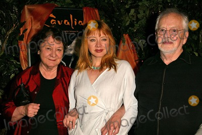 Andrea Evans Photo - Andrea Evans and parents at the Opening Night of Cavalia Big Top Glendale CA 04-27-04