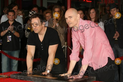 Jimmy Chamberlin Photo - Jimmy Chamberlin and Billy Corgan at the induction ceremony for Smashing Pumpkins into Hollywoods RockWalk Sunset Boulevard Hollywood CA 04-23-08
