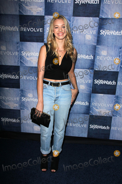 Sadie Calvano Photo - Sadie CalvanoPeople Stylewatch Hosts Hollywood Denim Party The Line Los Angeles CA 09-18-14