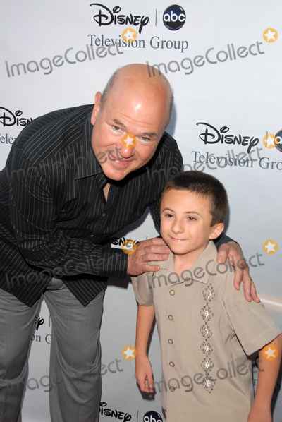Atticus Shaffer Photo - Larry Miller and Atticus Shaffer at the 2009 Disney-ABC Television Group Summer Press Tour Langham Resort Pasadena CA 08-08-09