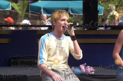A-Teens Photo -  A-Teens at the Radio Disney Jams 3 launch Tororrowland Terrace Disneyland 03-31-01
