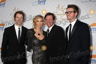 Alfred Mann Photo - Janet Jones Gretzky Wayne Gretzky sonsat the 10th Alfred Mann Foundation Gala Robinson-May Lot Beverly Hills CA 10-13-13