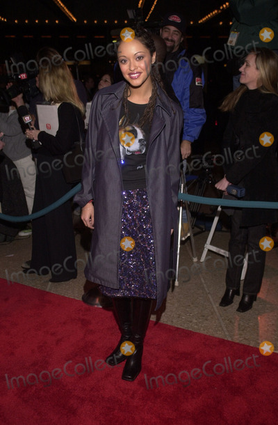 ABBA Photo - Marissa Ramirez at the premiere of MAMA MIA the musical based on the songs of ABBA Schubert Theater Century City 02-26-01