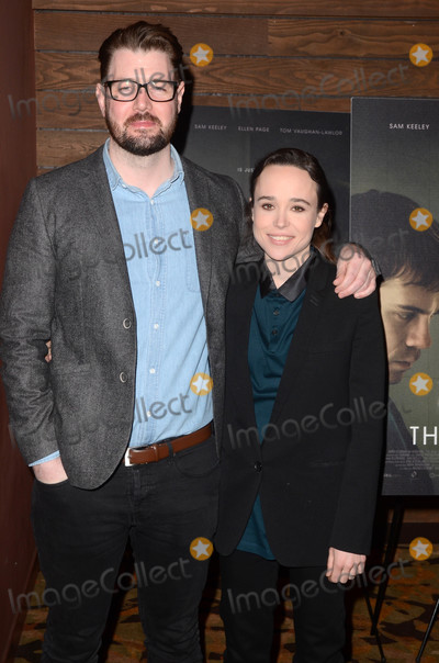 The Cure Photo - David Freyne Ellen Pageat The Cured Los Angeles Special Screening AMC Dine-In Sunset 5 West Hollywood CA 02-20-18