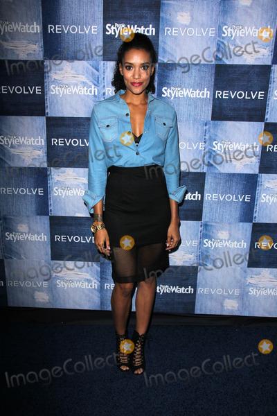 Annie  Ilonzeh Photo - Annie IlonzehPeople Stylewatch Hosts Hollywood Denim Party The Line Los Angeles CA 09-18-14
