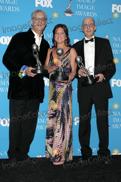 Bob Yari Photo - Mark R Harris with Cathy Schulman and Bob Yari