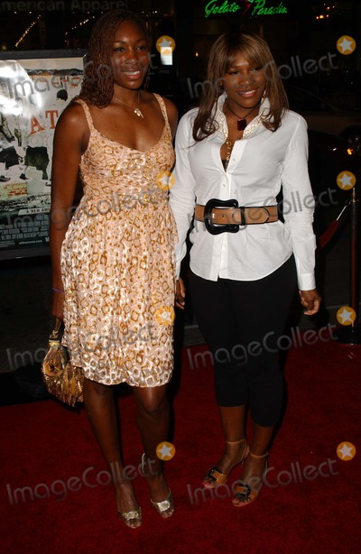 ATL Photo - Venus Williams and Serena Williamsat the Los Angeles Premiere of ATL Graumans Chinese Theatre Hollywood CA 03-30-06