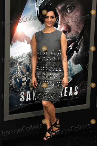 Archie Panjabi Photo - Archie Panjabiat the San Andreas Los Angeles Premiere TCL Chinese Theater Hollywood CA 05-26-15