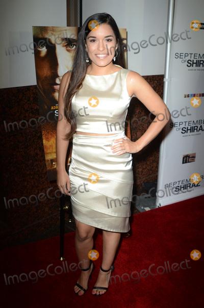 Alicia Sixtos Photo - Alicia Sixtosat the Septembers of Shiraz Premiere Museum of Tolerance Los Angeles CA 06-21-16