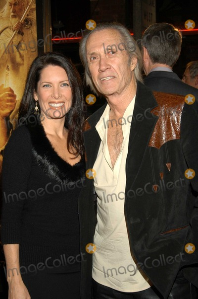 Annie Bierman Photo - David Carradine and Annie Bierman at The North American Premiere of The Lord of the Rings The Return of the King  Mann Village Theatre Westwood Calif 12-03-03