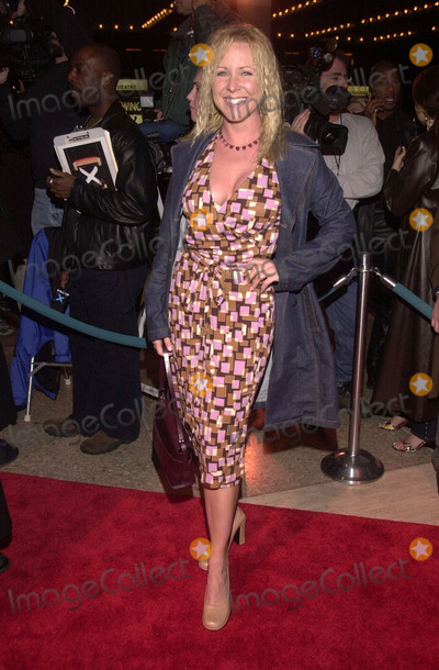 ABBA Photo - Karri Turner at the premiere of MAMA MIA the musical based on the songs of ABBA Schubert Theater Century City 02-26-01