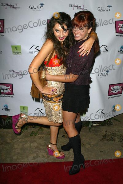 Anna Chudoba Photo - Niki Shadrow and Anna ChudobaAt the Meghan Fashion Week Wrap Party Cabana Club Hollywood CA 10-21-05