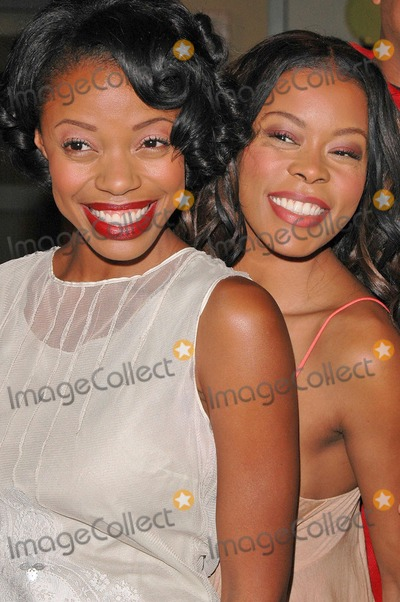 Jill Marie Jones Photo - Jill Marie Jones and Golden Brooks at the celebration in honor of 100 Episodes of Girlfriends at Stage 23 Paramount Pictures Hollywood CA 10-06-04