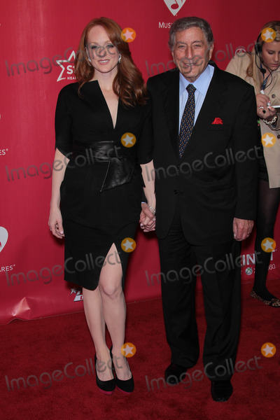 Antonia Bennett Photo - Tony Bennett and Antonia Bennettat the 2012 MusiCares Person Of The Year honoring Paul McCartney Los Angeles Convention Center Los Angeles CA 02-10-12