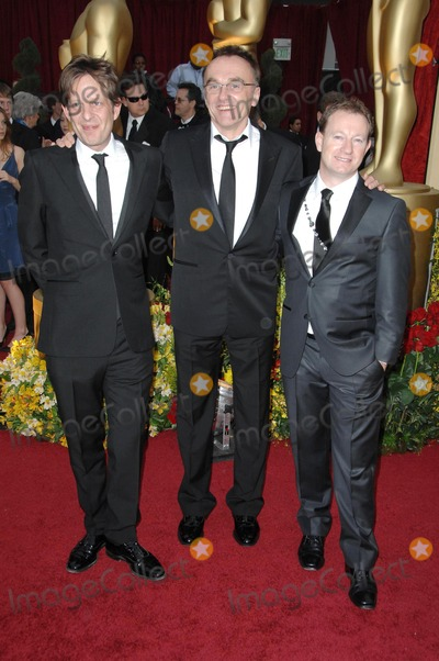 Christian Colson Photo - Christian Colson with Danny Boyle and Simon Beaufoy at the 81st Annual Academy Awards Kodak Theatre Hollywood CA 02-22-09