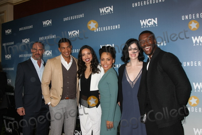 Alano Miller Photo - Christopher Meloni Alano Miller Jurnee Smollett-Bell Amirah Vann Jessica de Gouw Aldis Hodgeat the Underground WGN Winter 2016 TCA Photo Call The Langham Huntington Hotelm Pasadena CA 01-08-16