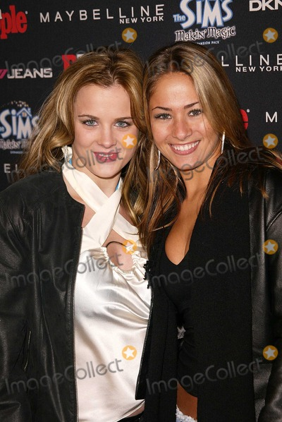 Ashley Poole Photo - Ashley Poole and Brooke Paller at the Teen People 2003 Artist Of The Year and AMA After-Party Avalon Hollywood CA 11-16-03