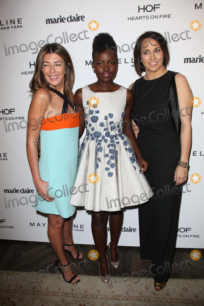 Anne Fulenwide Photo - Nina Garcia Lupita Nyongo Anne Fulenwiderat the Marie Claire Hosting Fresh Faces Party Soho House West Hollywood CA 04-08-14