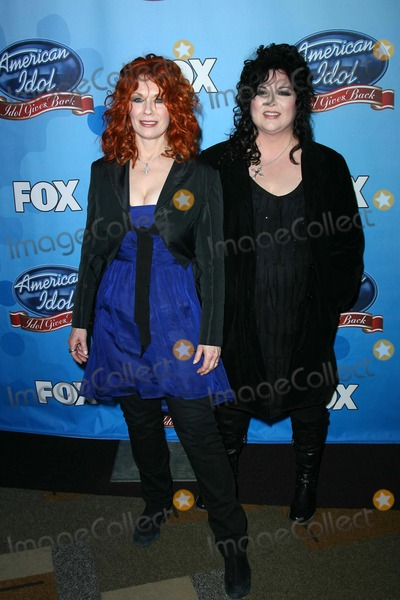Ann Wilson Photo - Nancy Wilson and Ann Wilson of Heart at the taping of American Idols Idol Gives Back 2008 Kodak Theatre Hollywood CA 04-06-08