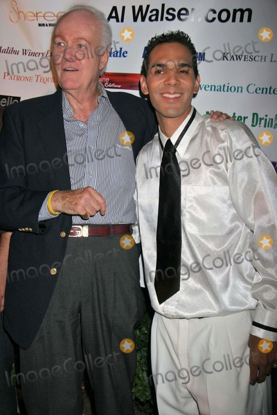 Al Walser Photo - Angus Duncan and Al Walserat the Principality of Lichtensteins 200th Anniversary Party Private Location Beverly Hills CA 07-15-06