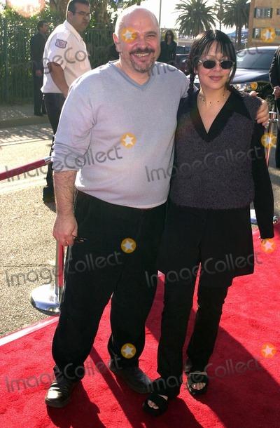 Anthony Minghella Photo -  Anthony Minghella and date at the BAFTA Pre-Oscar tea party Santa Monica 03-25-00