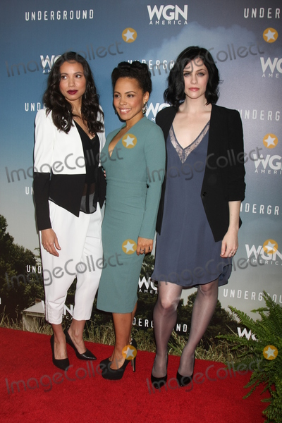 Amirah Vann Photo - Jurnee Smollett-Bell Amirah Vann Jessica de Gouwat the Underground WGN Winter 2016 TCA Photo Call The Langham Huntington Hotelm Pasadena CA 01-08-16