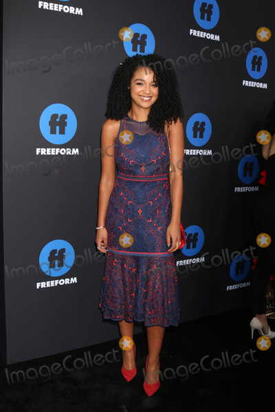 Aisha Dee Photo - Aisha Deeat the Freeform Summit 2018 NeueHouse Hollywood CA 01-18-18