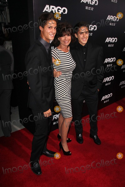 Adrienne Barbeau Photo - Adrienne Barbeau and sonsat the Argo Los Angeles Premiere AMPAS Samuel Goldwyn Theater  Beverly Hills CA 10-04-12