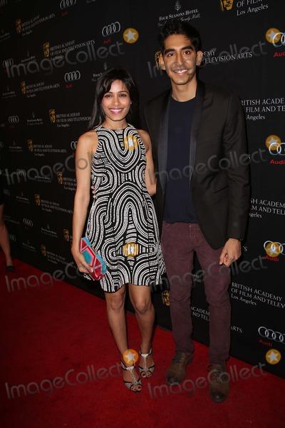 Dev Patel Photo - Freida Pinto and boyfriend Dev Patelat the BAFTA Los Angeles 2013 Awards Season Tea Party Four Seasons Hotel Los Angeles CA 01-12-13