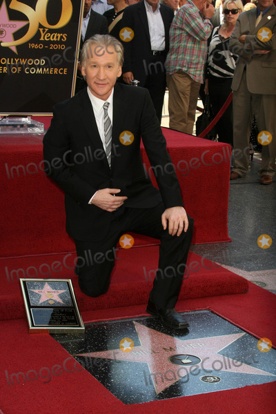 Bill Maher Photo - Bill Maher at the induction ceremony for Bill Maher into the Hollywood Walk of Fame Hollywood CA 09-14-10