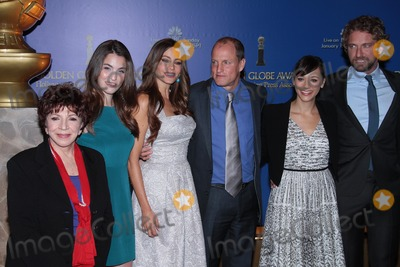 Aida Takla-OReilly Photo - Aida Takla-OReilly Rainey Qualley Sofia Vergara Woody Harrelson Rashida Jones Gerard Butlerat the 69th Annual Golden Globe Awards Nominations Beverly Hilton Hotel Beverly Hills CA 12-15-11