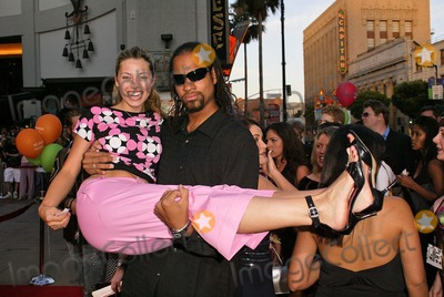 Amy Brassette Photo - Amy Brassette and David Walters at the premiere of LA Twister at the Chinese Theater Hollywood CA 06-30-04
