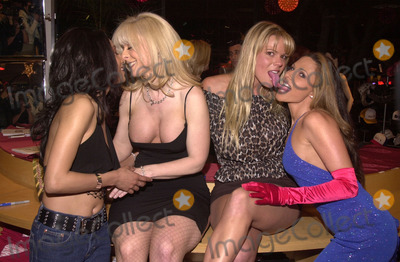 Alexandra Silk Photo - Dee Nina Hartley Keri Windsor and Alexandra Silk at the Post-Valentines Party thrown by Adam  Eve Productions Hustler Store Hollywood 02-21-02