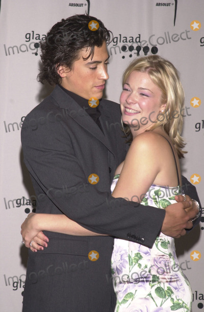 Andrew Keegan Photo -  Andrew Keegan and Leann Rimes at the 12th Annual GLAAD Media Awards Century Plaza Hotel 04-28-01