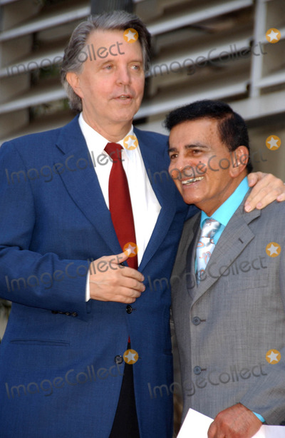 Casey Kasem Photo - Mike Curb and Casey Kasemat the Ceremony honoring Mike Curb with a star on the Hollywood Walk of Fame Vine St Hollywood CA 06-29-07