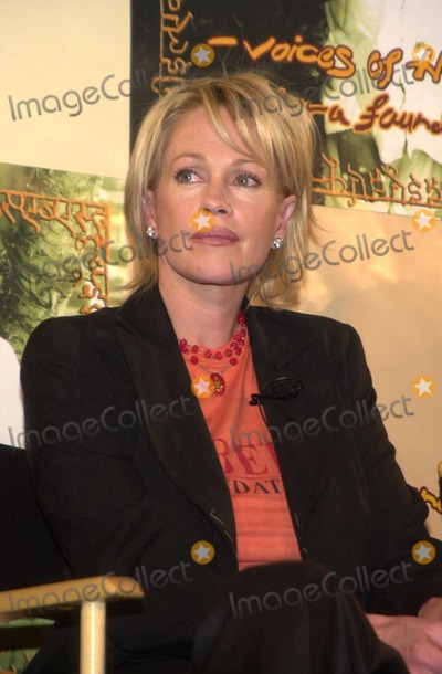 Melanie Griffith Photo - Melanie Griffith at the Sabera Foundation Press Conference helping children and wives in India who have been abandoned CAA Beverly Hills CA 10-10-02